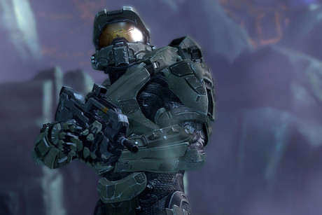 Master Chief in Halo 4 art