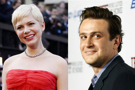 Michelle Williams and Jason Segel (Reuters)