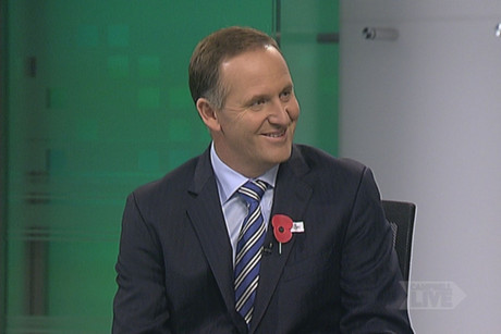 John Key talks about the Crafar farms decision and the Sky City casino and convention centre saga