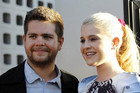 "Jack Osbourne, pictured with sister Kelly, says he is ""excited"" about becoming a father (Reuters)"