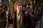 The Hobbit is being filmed at 48 frames per second rather than the standard 24  (file pic)