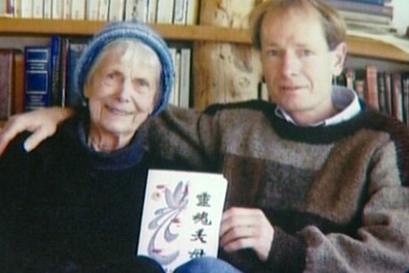 Sean Davison with his mother