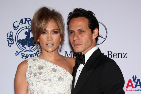 Marc Anthony and Jennifer Lopez (AAP)