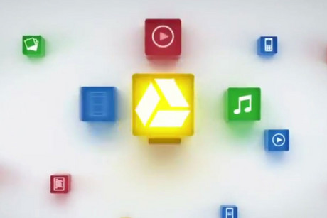 Screenshot from a promotional video for Google Drive