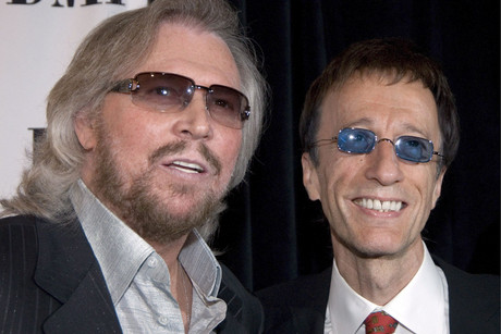 Barry and Robin Gibb (AAP)