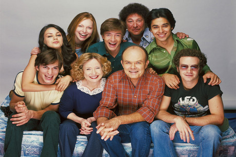 The cast of That '70s Show