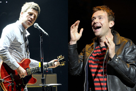 Noel Gallagher; Damon Albarn (Photos: WENN.com)