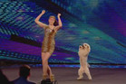 Pudsey the dancing dog on Britain's Got Talent