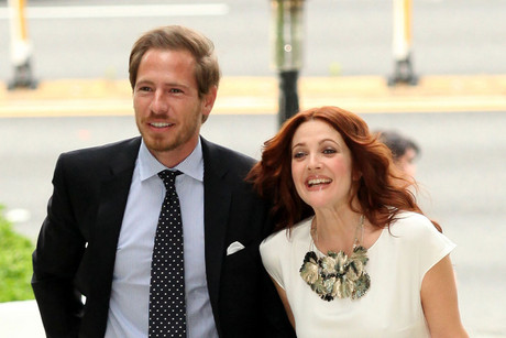 Drew Barrymore and fiance Will Kopelman (AAP)