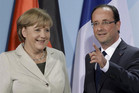 German Chancellor Angela Merkel and French President Francois Hollande (Reuters)