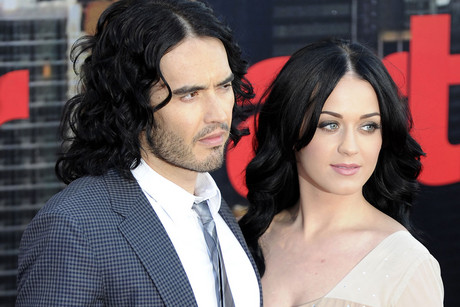 Russell Brand and Katy Perry in 2011 (Reuters)