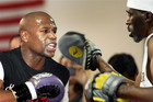Floyd Mayweather in training. (Reauters)