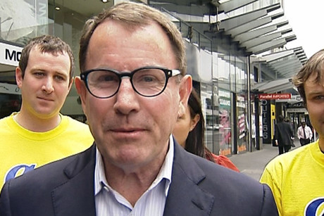 ACT MP John Banks (file)