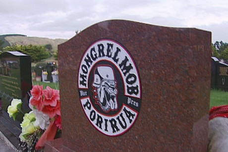 The Porirua City Council is attempting to remove 'offensice insignia' from headstones