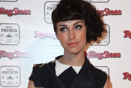 Kimbra Rolling Stone Awards in Sydney in January (AAP)