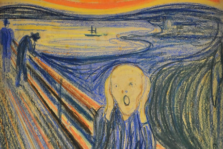 Edvard Munch's masterpiece 'The Scream' (AAP)