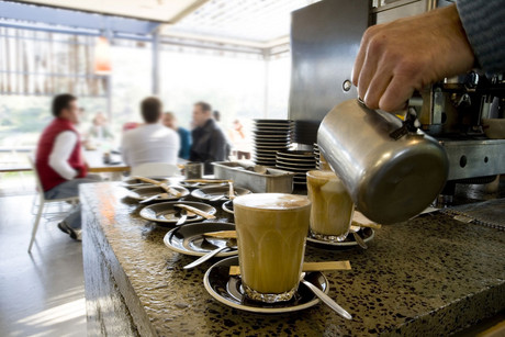 Supreme Coffee churns out five tonnes of coffee a week, making it one of New Zealand's largest specialty roasters (AAP)