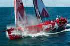 Team New Zealand's Camper looking to finish the sixth leg strongly. (file pic)