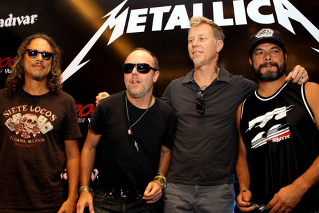 Metallica in 2011 (WENN.com)