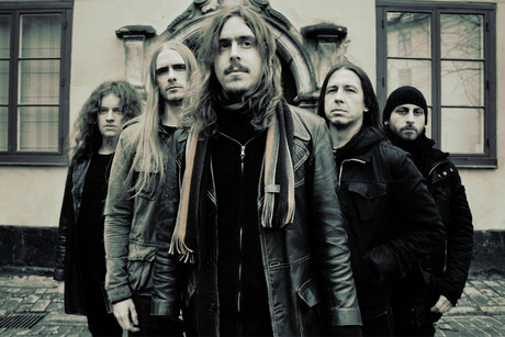 Swedish metal band Opeth