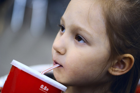 This is the first time an American city has directly attempted to limit soda portion sizes (file)