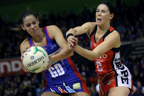 The Northern Mystics will be looking to retain their lead in this weeks ANZ Championships round (Photosport file)
