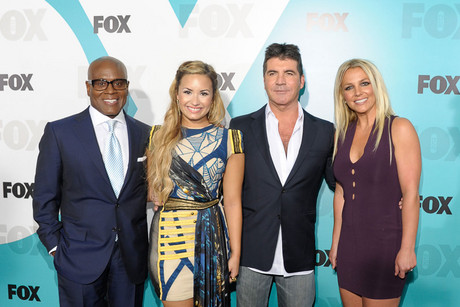 The cast of The X Factor (Getty)
