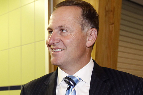 John Key appears isolated and he's certainly in no mood to discuss the issue