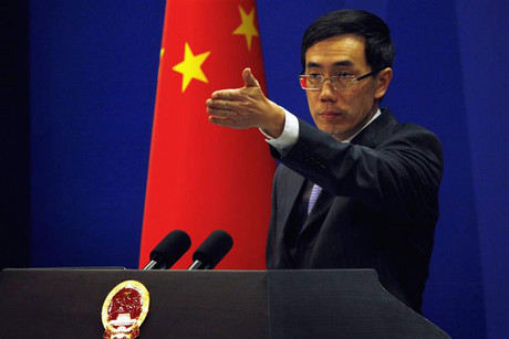 China's Foreign Ministry spokesman Liu Weimin (Reuters)