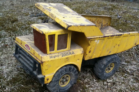A mighty Tonka truck