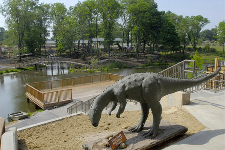 Outside the Creation Museum in Petersburg, Kentucky (Reuters)