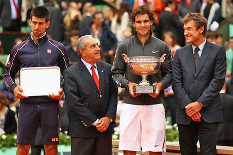 Expect to see more of Djokovic and Nadal on Grand Slam podiums (Getty)