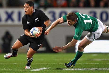 Manawatu's latest poster boy Aaron Smith (Getty)