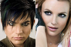 Adam Lambert and Britney Spears