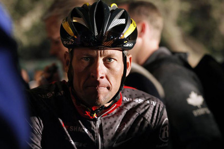 Lance Armstrong has always maintained he's never doped (Reuters file)