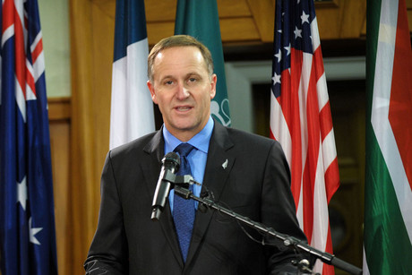 Prime Minister John Key (Photosport)