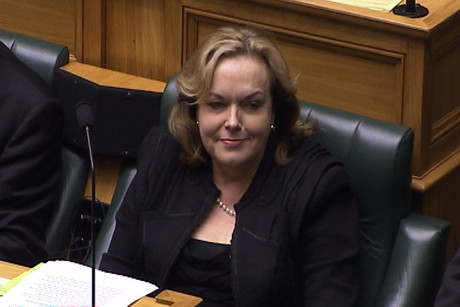 Judith Collins in parliament