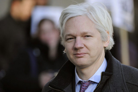Julian Assange (AAP)