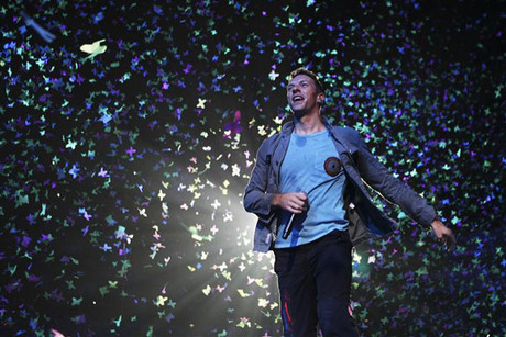 Chris Martin of Coldplay (Reuters)