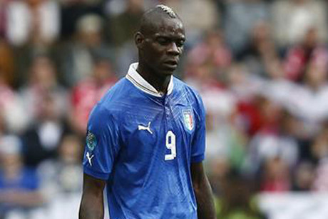 Mario Balotelli is said to have had racist abuse directed towards him in Italy's last game (Reuters)