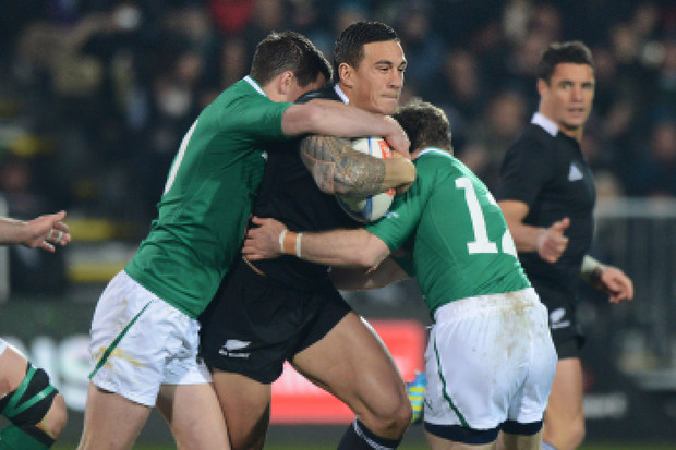 Key-runners, like SBW, were shut down well by Ireland (Photosport)