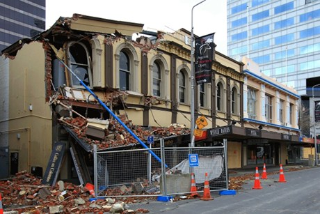 Heritage buildings were hit hard by the Canterbury quakes  (file pic)