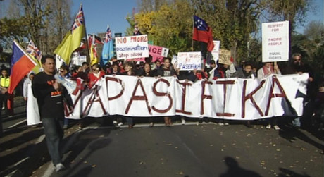 Hundreds marched to highlight issues facing Pacific Islanders