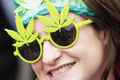 Recent US surveys indicate that many teens view marijuana as relatively benign, with more of them now smoking pot then cigarettes (Reuters)