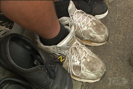 Shaquille Ioane's feet