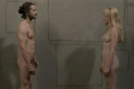 Shia LaBeouf and Denna Thomsen naked