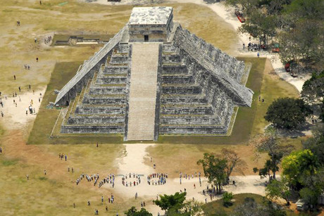 The pyramid of Chichen Itza in the Mexican state of Yucatan (Reuters)