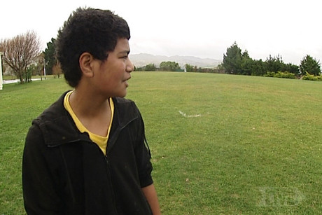Paul Otukalo of Rangikura School in Porirua