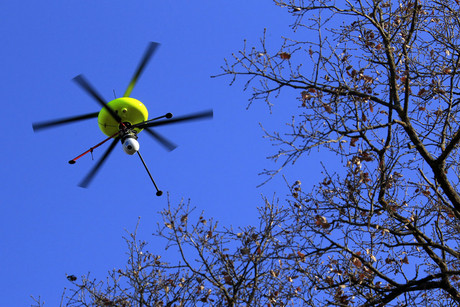 A drone equipped with cameras and sensors (file pic: Reuters)