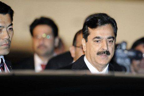 Pakistan's Prime Minister Yousuf Raza Gilani (Reuters)